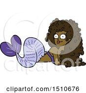 Poster, Art Print Of Cartoon Mermaid