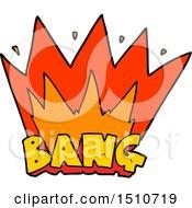 Cartoon Bang Sign