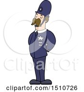 Cartoon Policeman by lineartestpilot