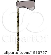 Cartoon Medieval War Axe by lineartestpilot