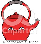 Cartoon Kettle by lineartestpilot