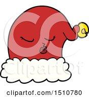 Cartoon Christmas Santa Hat