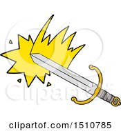 Swinging Cartoon Sword