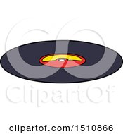 Cartoon Old Vinyl Record