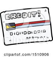 Cartoon Credit Card by lineartestpilot
