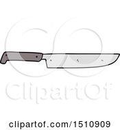 Cartoon Kitchen Knife
