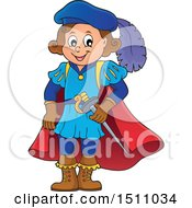 Clipart Of A Fairy Tale Prince Royalty Free Vector Illustration by visekart