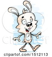 Happy Walking Female Rabbit