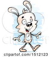 Happy Walking Male Rabbit