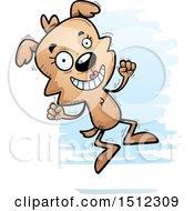 Jumping Female Dog