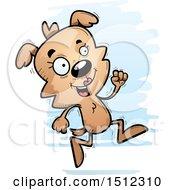 Running Female Dog