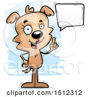 Happy Talking Female Dog