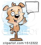 Happy Talking Male Dog
