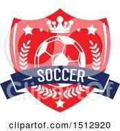 Soccer Ball In A Shield