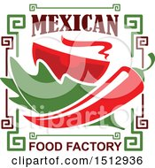 Mexican Food Factory Design With A Pepper Lettuce And Tomato
