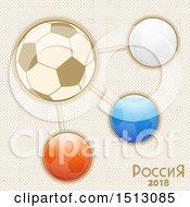Russian Soccer Football World Tournament Infographic Design