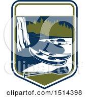 River And Kayak Shield