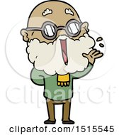 December 15th, 2017: Cartoon Joyful Man With Beard by lineartestpilot