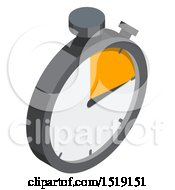 3d Stop Watch Icon