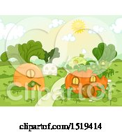 Town With Vegetable Houses