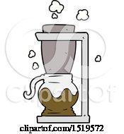 Cartoon Filter Coffee Machine by lineartestpilot