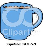 Cartoon Coffee Mug by lineartestpilot