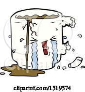 Cartoon Broken Mug by lineartestpilot
