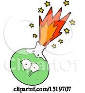 Cartoon Potion Exploding