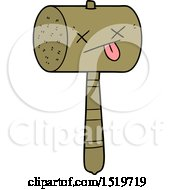 Cartoon Mallet by lineartestpilot