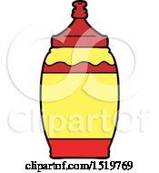 Cartoon Ketchup Bottle by lineartestpilot