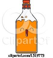 Cartoon Old Juice Bottle by lineartestpilot