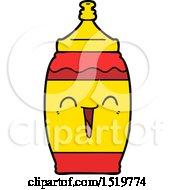 Cartoon Happy Sports Drink