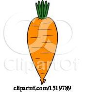Cartoon Carrot by lineartestpilot