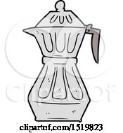 Cartoon Espresso Pot by lineartestpilot