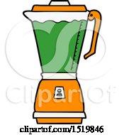 Cartoon Food Processor by lineartestpilot