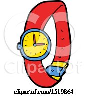 Cartoon Wrist Watch by lineartestpilot