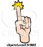 Cartoon Pointing Finger by lineartestpilot