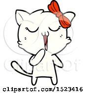 Cartoon Cat by lineartestpilot