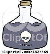 Poster, Art Print Of Cartoon Vial Of Assassin Poison