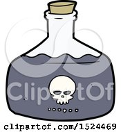 Cartoon Vial Of Assassin Poison by lineartestpilot