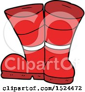 Poster, Art Print Of Wellington Boots Cartoon