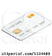 3d Isometric Icon Of A Credit Card