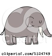 Cartoon Elephant by lineartestpilot