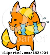 Cartoon Sasd Little Fox