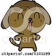 Cute Cartoon Dog
