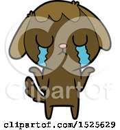 Sad Dog Crying