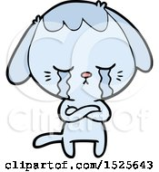 Sad Dog Crying