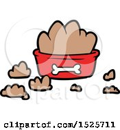 Cartoon Messy Pet Food