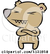 March 15th, 2018: Cartoon Bear by lineartestpilot