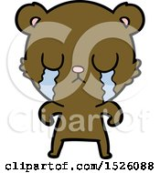 Crying Cartoon Bear